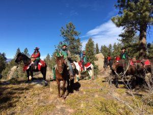 Christmas Tree Ambassador rides @ Buffalo Creek Forest | Pine | Colorado | United States
